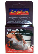 Impulse Condom Sweet Indulgence Flavored Lubricated 3 Pack