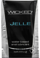 Wicked Jelle Water Based Anal Lubricant...